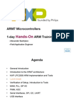 (nxp).1-day hands-on arm training