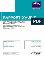 Rapport audit ISO -29
