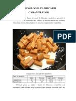 Tehnologia fabricarii caramelelor
