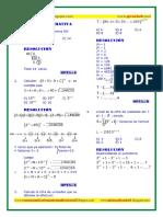 Problemas Resueltos de R.M. - Habilidad Operativa Ccesa007