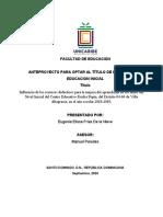Capitulo I. Trabajo metodología