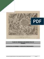 Plan de Ordenación Municipal de Toledo. Catálogo de Bienes y Espacios Protegidos
