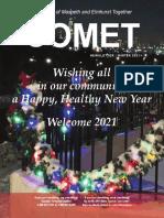 Comet Winter 2021 newsletter