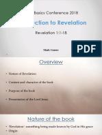 01-Introduction-Part A Revelation1- 11-18 Mr Mark Grasso
