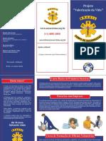 folder -Corpo de Socorristas do Brasil