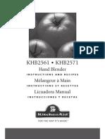 KHB2561 User Manual