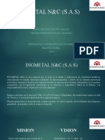 INGMETAL N&C (S.A.S) PRESENTACION 2DO CORTE final