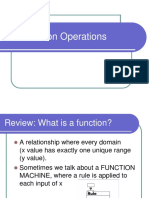 Functions Operations