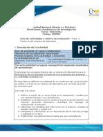 Guía de actividades y rúbrica de evaluación - Unidad 1 - Fase 2 - Contexto del sistema de telemetría