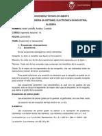 Ecuaciones e Inecuaciones- Gonzalo Andaluz