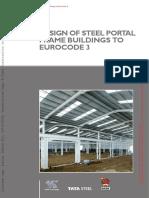 P399 - Design of Steel Portal Frame Buildings to Eurocode 3.pdf