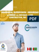 BROCHURE DIPLOMADO RESIDENCIA, SUPERVISIÓN, SEGURIDAD..