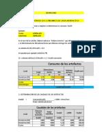 CALCULO DE GAS