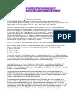 Counselling Psicopedagogico - Regoliosi