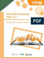 Cuadernillo de preguntas Saber 11 - Lectura critica (1) (2)