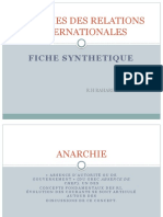 THEORIE FICHE SYNTHETIQUE