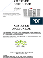 COSTOS DE OPORTUNIDAD & LIMITACIONES