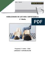 7681-LP19 - Habilidades de Lectura - Sintetizar II 5