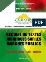 Recueil-de- textes-juridiques-sur-les-marchés-publics au-Sénégal-EDITION 2018 (1).pdf