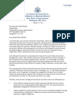 TSA Letter 1.11.21