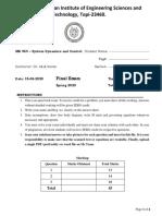 ME 464_Final_Exam_studentcopy
