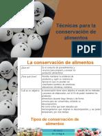 Técnicas para la conservación de alimentos.pptx