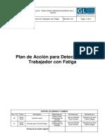 Plan de Acción para detección de Trabajador con Fatiga