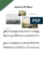 Telemann - Fantasia in D Minor