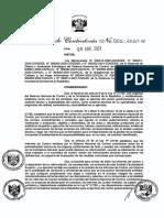 Directiva N°001-2021-CG-ACAL - Revisión de Oficio de Informes de Control