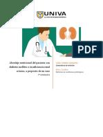 Abordaje nutricional del paciente con diabetes mellitus e insuficiencia renal crónica