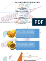 DIAPOSITIVAS PLAN DE MARKETING DE MERMELADA DE MARACUYA