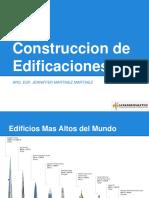 SESION 4 Cons. Edificaciones  Sistemas Constructivos