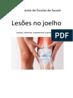 Educação Física Lesões no joelho