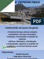 Curso sistema Fotovoltaico - INTRODUÇÃO