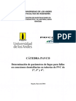 12-Determinación de parámetros de fugas para fallas en conexiones domiciliarias