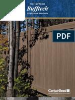 Bufftech PVC Fence | Sunrise Custom Fence Inc.