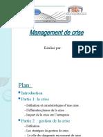 Management de crises
