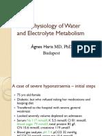 Патофизиологија на метаболизам на вода и електролити