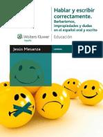 Hablar y escribir correctamente. Barbarismos, impropiedades y dudas en el español oral y escrito.pdf