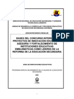 BasesyFormatosConcursoFortIIEEs