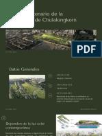 Parque Centenario de la Universidad de Chulalongkorn