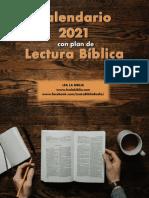 Plan de Lectura 2021