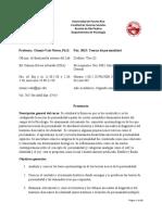 Prontuario teorías  segundo semestre 2016-17