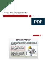 Tema 1.- Procedimientos constructivos(2)