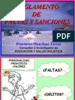 004. REGLAMENTO FALTAS Y SANCIONES