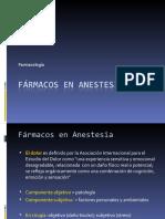 1.- Anestesicos generales