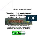 19 Folleto Final Proyecto corredor Yungas-Chaco