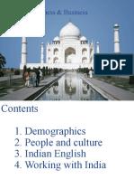 Culture awareness ppt explaining cultures in india