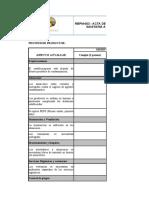 Rbpm-003 Acta de Inspección Higenico Sanitaria a Proveedores