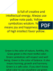 Colors and Their Meaning